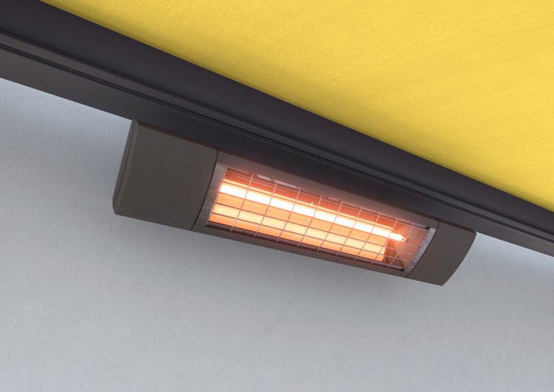 Extra Wärmestrahler Tuch gelb 202011