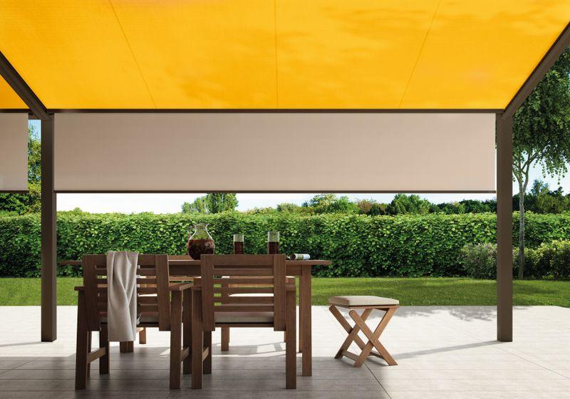 779-879 Detail Schattenplus Innen Tuch orange-creme 201807