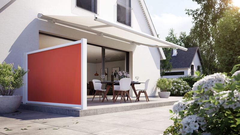 Privacy protection for the terrace: markilux format, format lift and format slide