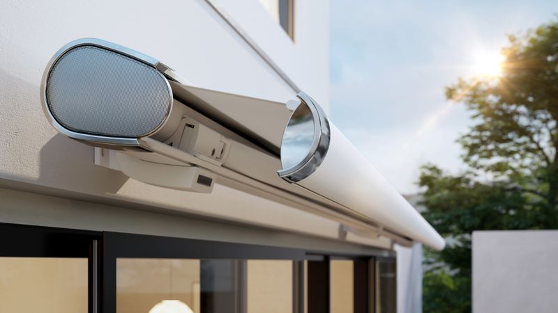 Tenda da sole a cassonetto premiata per terrazze e balconi: markilux 6000