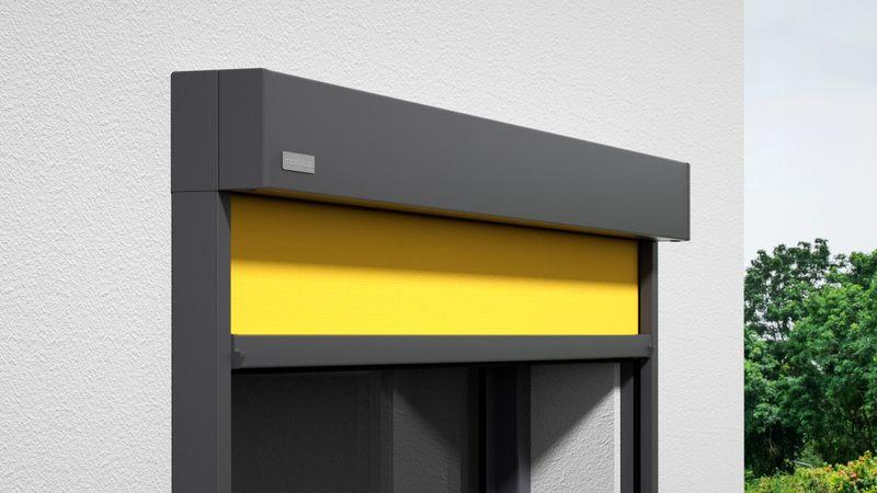 Fenstermarkise 620-Detail Kassette Wandmontage 0009 201910