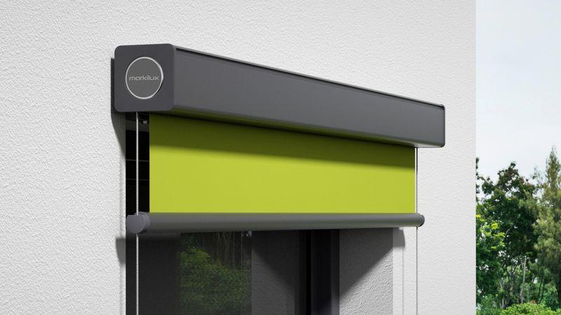 Fenstermarkise 710-Detail Kassette Wandmontage 0006 201910
