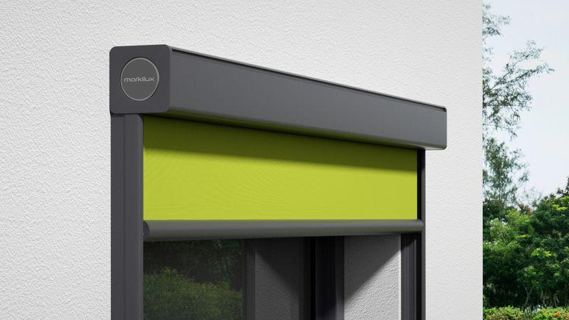 Fenstermarkise 720-Detail Kassette Wandmontage 0004 201910