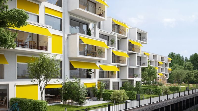 Fenstermarkise 730-776 Mehrfamilienhaus Image 201810