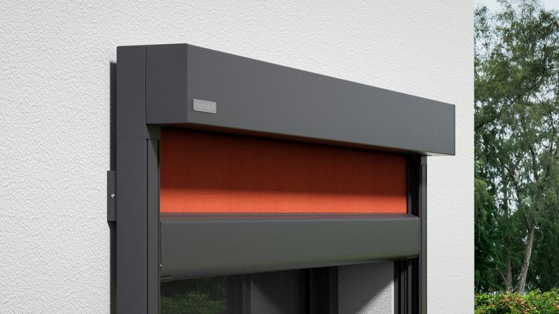 Fenstermarkise 776 Detail Kassette Wandmontage 0001 201910