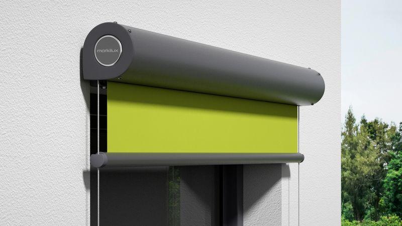 Fenstermarkise 810-Detail Kassette Wandmontage 0007 201910