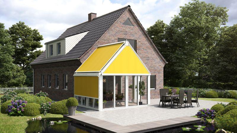 Fenstermarkise 893-Imagebild Bauernhaus mit WiGa-201701