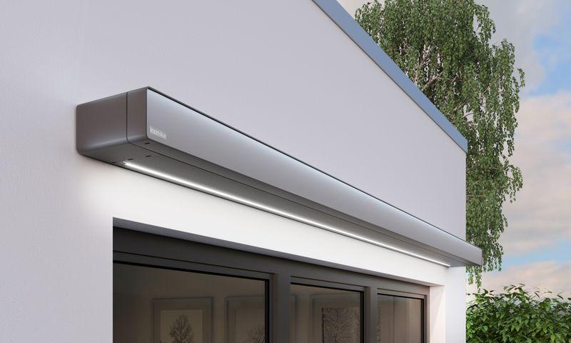 970-Bungalow Detail Kassette Wand geschlossen LED-Line 201811