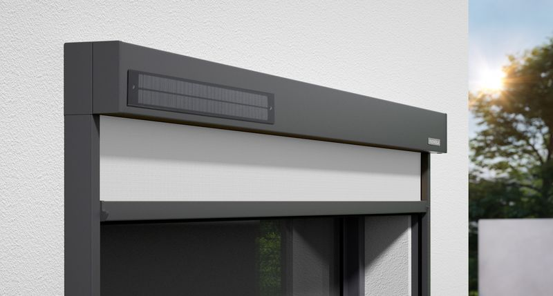 620-Detail Kassette sundrive Wandmontage 0009 Tuch grau 201911.tif